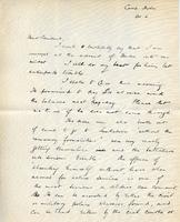 Soldiers' Letters to W. C. Murray : Reginadl Bateman, Oct. 6