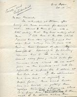 Soldiers' Letters to W. C. Murray : Reginald Bateman Oct. 15, 1916