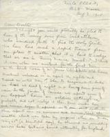 Soldiers' Letters to W. C. Murray : Charlie N. Cameron, Aug. 7, 1915