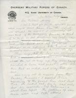 Soldiers' Letters to W. C. Murray : George Coghill , Jan. 24, 1919