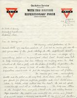 Soldiers' Letters to W. C. Murray : Hedley Dimock, Jul. 20, 1918