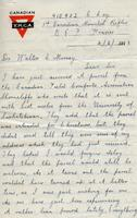Soldiers' Letters to W. C. Murray : A. Douglas , Feb. 4, 1918