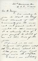 Soldiers' Letters to W. C. Murray : Oscar Goulden, undated