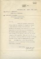 Soldiers' Letters to W. C. Murray : C. J. Mackenzie, Sept. 22, 1916