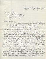 Soldiers' Letters to W. C. Murray : J. R. Macpherson, May 17, 1915