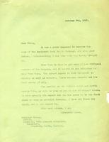 W. C. Murray's letters to soldiers ; Gloag, Oct. 9 , 1917