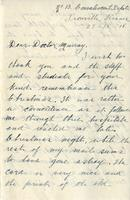 Soldiers' Letters to W. C. Murray : J. Paul, Dec. 27, 1918
