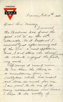 Soldiers' Letters to W. C. Murray : Roy E. Shuttleworth