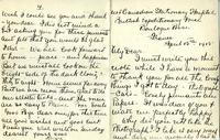 Letter from Nurse Brock to her fiance, from France, Apr. 15, 1915