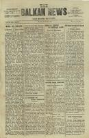 The Balkan News, Monday May 22, 1916