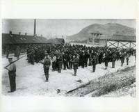 Guards and Internees at Internment Camp, Banff, [ca.1917]