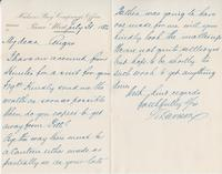 Letter to Angus McKay from W. Davison