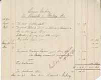 Invoice for Angus McKay from Brewster[?] and McKay