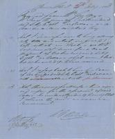 Contract between Angus McKay and A.G. Delisle