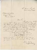 Letter from Angus McKay to [?]