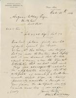 Letter to Angus McKay from Brewster and McKay