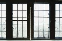 College Building First Floor - Bay Window, Rm 225.1, South Windows