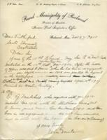 Letter re: E. A. and E. G. Mitchell, Nov. 27, 1918