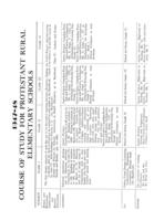 1947-48 Course of study for Protestant rural elementary schools
