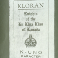 The Ku Klux Klan in Saskatchewan Slide 13