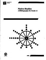 1992 Native Studies