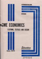 1977 Division III Home Economics: Clothing, Textile & Design