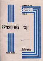 1977 Division IV Psychology 30