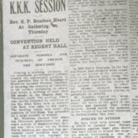The Ku Klux Klan in Saskatchewan Slide 35