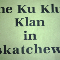 The Ku Klux Klan in Saskatchewan Slides