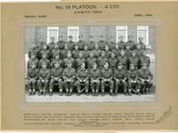No. 19 Platoon - 4 CoY April 1943