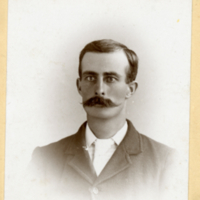 Unknown man: The Notman Studio, Halifax