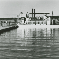 Paddlewheeler on Waskesiu Lake - from Park Photos