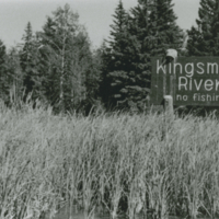 Entrance to the Kingsmere River