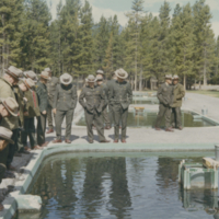 Fish Culture Warden School in Jasper circa 1965?