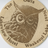 The Owls Nest, Lakeview Hotel, Waskesui [ie. Waskesiu] Lake