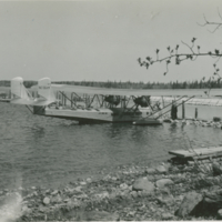 [NC-664M plane at dock]
