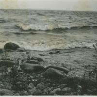 [Shore of lake]