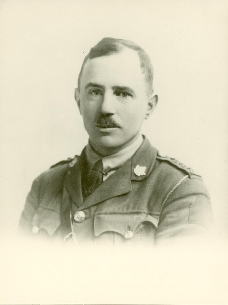 Image of Reginald John Godfrey Bateman, the first professor of English at the University of Saskatchewan.